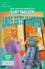 Cover of: Amos gets married