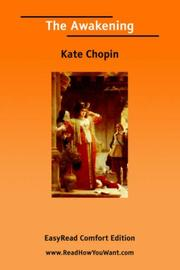 Cover of: Awakening, The  [EasyRead Comfort Edition] | Kate Chopin