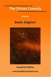 Cover of: The Divine Comedy Inferno