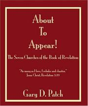 Cover of: About to Appear! | Gary D. Patch