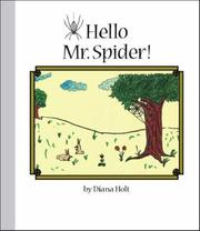 Cover of: Hello Mr. Spider! (Grandma