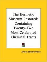 Cover of: The Hermetic Museum Restored