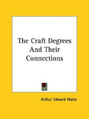 Cover of: The Craft Degrees And Their Connections