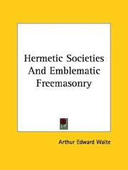 Hermetic Societies and Emblematic Freemasonry
