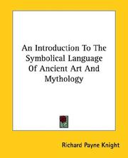 Cover of: An Introduction to the Symbolical Language of Ancient Art and Mythology
