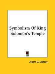 Cover of: Symbolism of King Solomon