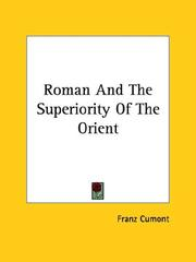 Cover of: Roman and the Superiority of the Orient