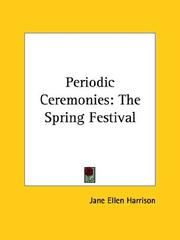 Cover of: Periodic Ceremonies: The Spring Festival
