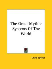 Cover of: The Great Mythic Systems of the World