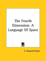Cover of: The Fourth Dimension | C. Howard Hinton
