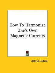 Cover of: How to Harmonize One