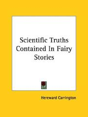 Cover of: Scientific Truths Contained in Fairy Stories