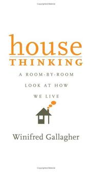 Cover of: House Thinking | Winifred Gallagher