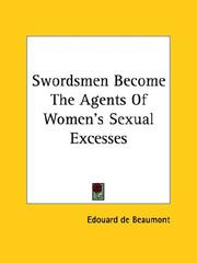 Cover of: Swordsmen Become the Agents of Women's Sexual Excesses