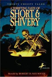Cover of: A Terrifying Taste of Short & Shivery | Robert D.