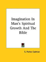 Cover of: Imagination in Man's Spiritual Growth and the Bible