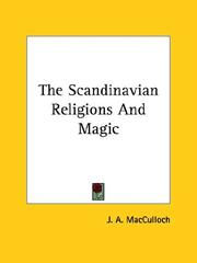 Cover of: The Scandinavian Religions and Magic
