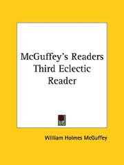 Cover of: Mcguffey's Readers Third Eclectic Reader