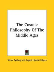 Cover of: The Cosmic Philosophy of the Middle Ages