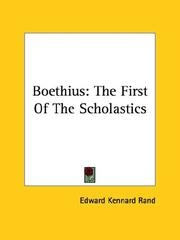 Cover of: Boethius