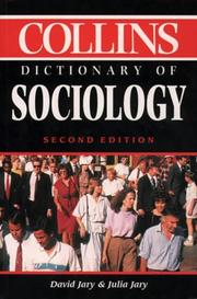 Collins Dictionary Of Sociology