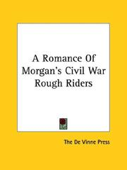 Cover of: A Romance of Morgan