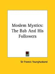Cover of: Moslem Mystics