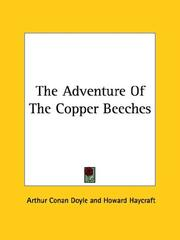 Cover of: The adventure of the Copper Beeches | Sir Arthur Conan Doyle