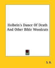 Cover of: Holbein's Dance of Death and Other Bible Woodcuts