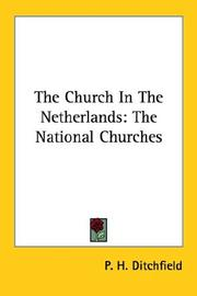 Cover of: The Church In The Netherlands: The National Churches