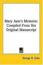 Cover of: Mary Jane's Memoirs