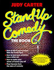 Cover of: Stand-up comedy