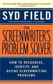 Cover of: The screenwriter's problem solver