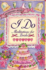 Cover of: I do