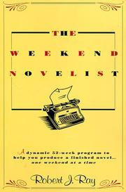 The weekend novelist | Open Library