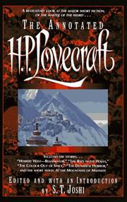 Cover of: The  annotated H.P. Lovecraft