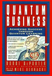 Cover of: Quantum business | Bobbi DePorter