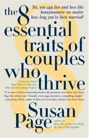 Cover of: The 8 Essential Traits of Couples Who Thrive