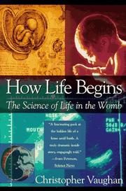 Cover of: How Life Begins