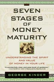 Cover of: The Seven Stages of Money Maturity | George Kinder