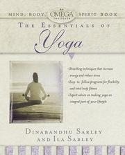 Cover of: The essentials of yoga