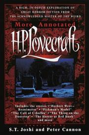 Cover of: More annotated H.P. Lovecraft