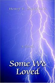 Cover of: Some We Loved