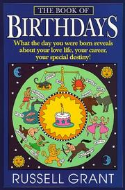 Cover of: The book of birthdays