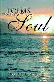 Cover of: Poems From My Soul | Robbie L. Hardin