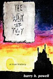 Cover of: The War at Troy