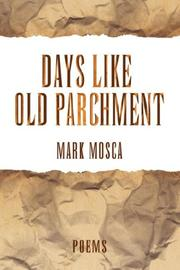 Cover of: Days Like Old Parchment