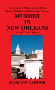 Cover of: Murder in New Orleans | Mariann Tadmor
