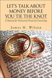 Cover of: Let's Talk About Money Before You Tie the Knot