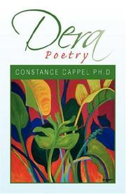 Cover of: Dera Poetry | Constance Cappel
